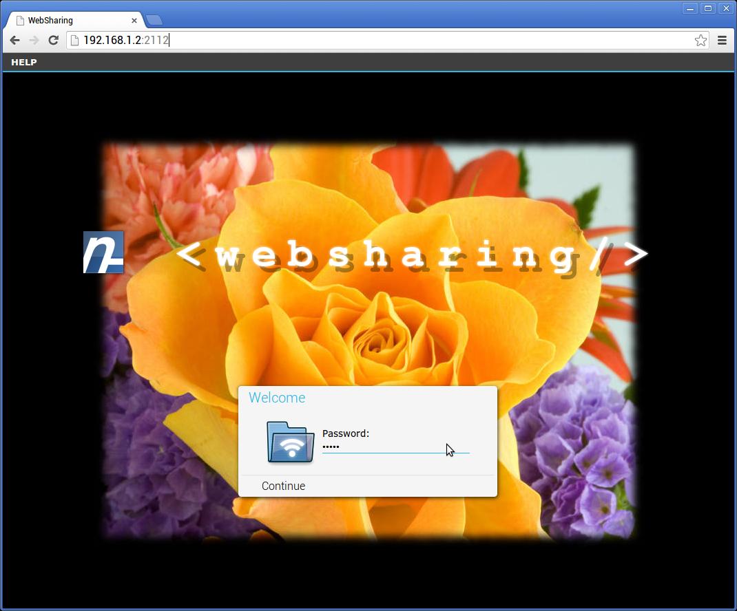 [SOFT]WEBSHARING : Affichage et transfert de fichiers media avec un navigateur Web [Gratuit/Payant][01.10.2013] Welcome